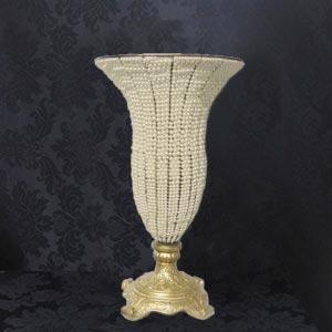 Vaso pérola boca larga G - vendas de material de decoração