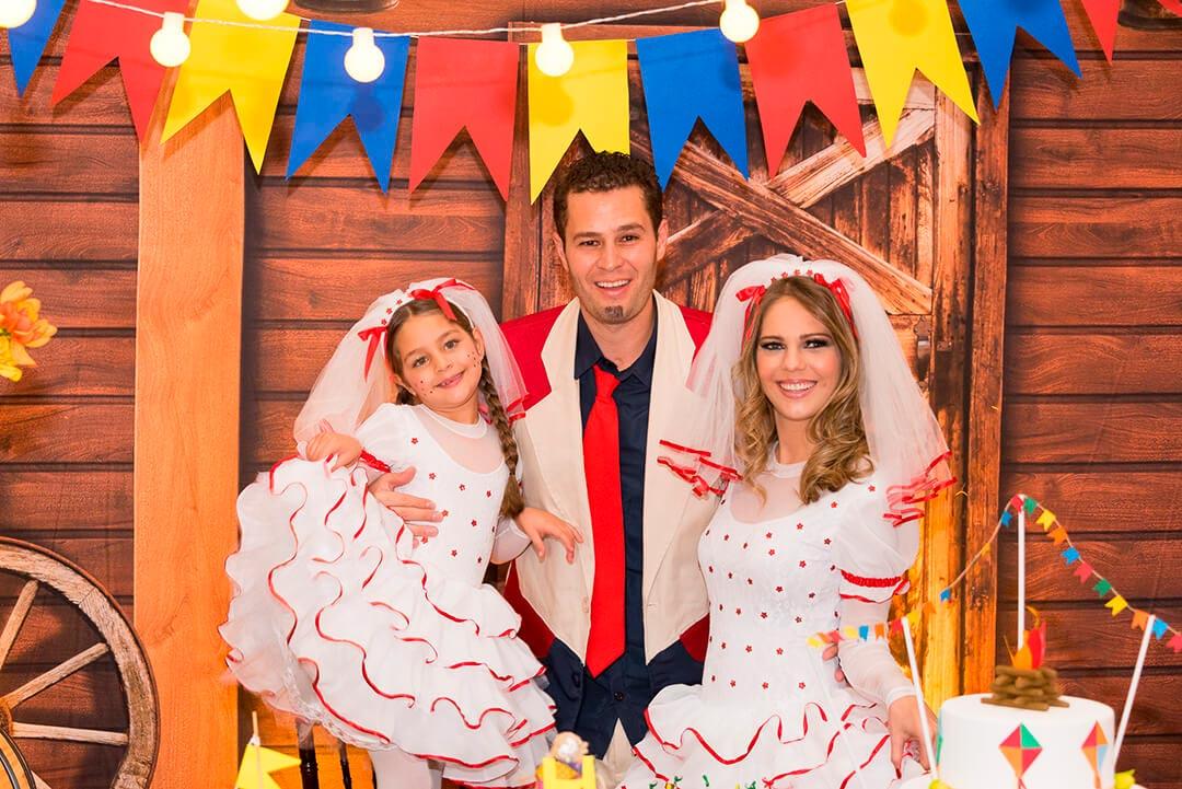 Decoração temática infantil festa junina - Festejare Decorações e Flores