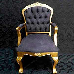 Poltrona Luis XV-vendas de peças para decoração