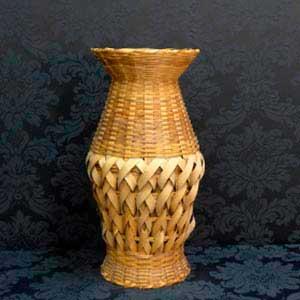 Vaso de palha G-vendas de peças para decoração
