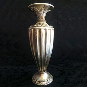 Vaso dourado G-vendas de peças para decoração
