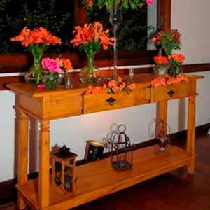 Aparador de madeira-vendas de peças para decoração