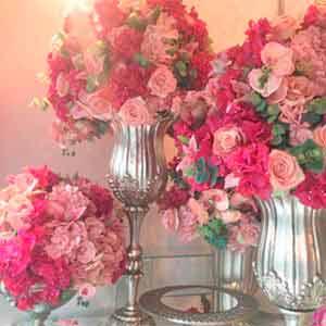 Arranjos com flores permanentes-vendas de peças para decoração
