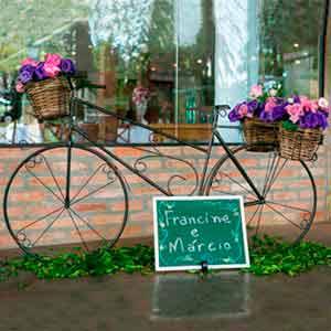 Bicicleta de ferro - vendas de peças para decoração