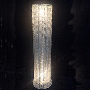 Coluna de cristal para altar -vendas de peças para decoração