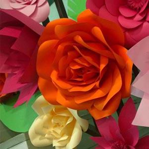 Flores de papel-vendas de peças para decoração