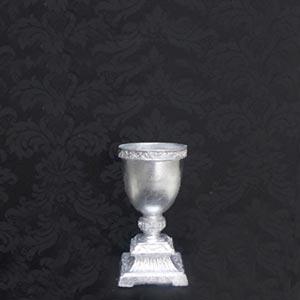 Vaso prata P-vendas de peças para decoração