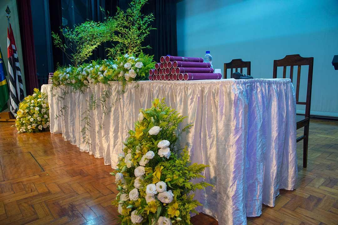 Formatura decoração - Festejare Decorações e Flores