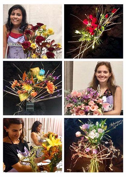 Capacitação em arte Floral - ETAF
