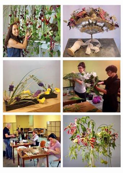 Arte Floral - Processo criativo - ETAF
