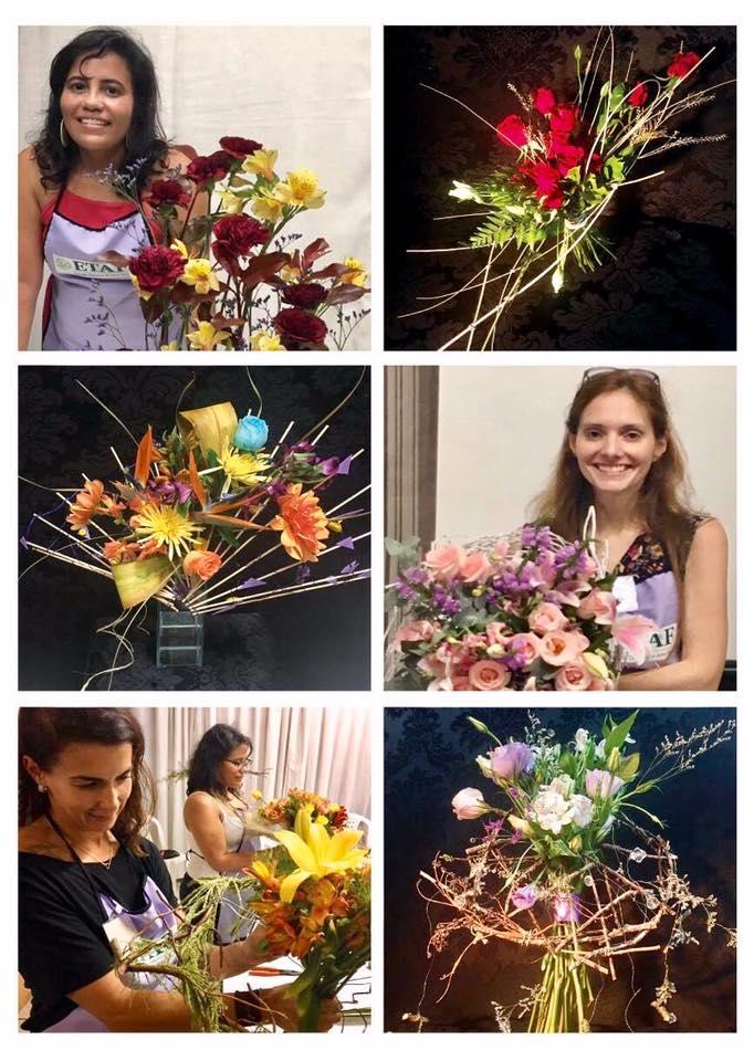 Cursos de arte floral: Módulo I