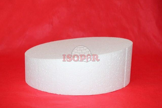 disco chanfrado de isopor