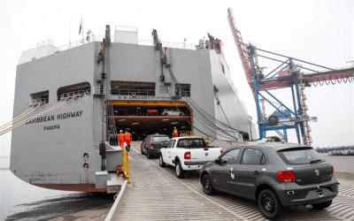Exportações de veículos bateram recorde no 1º. trimestre com 180,2 mil unidades embarcadas