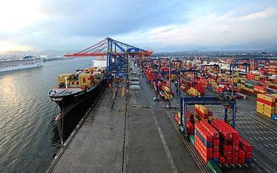 Porto de Santos contribui para aumento das receitas da DP World no primeiro semestre
