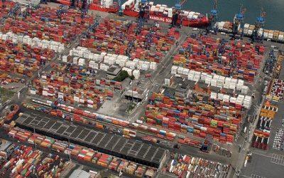 Soja em grãos e celulose lideram movimentação recorde de cargas no Porto de Santos até agosto