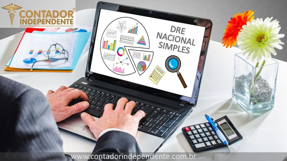 DRE Simples Nacional Planilha Editável