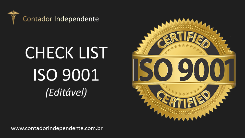 Check list ISO 9001