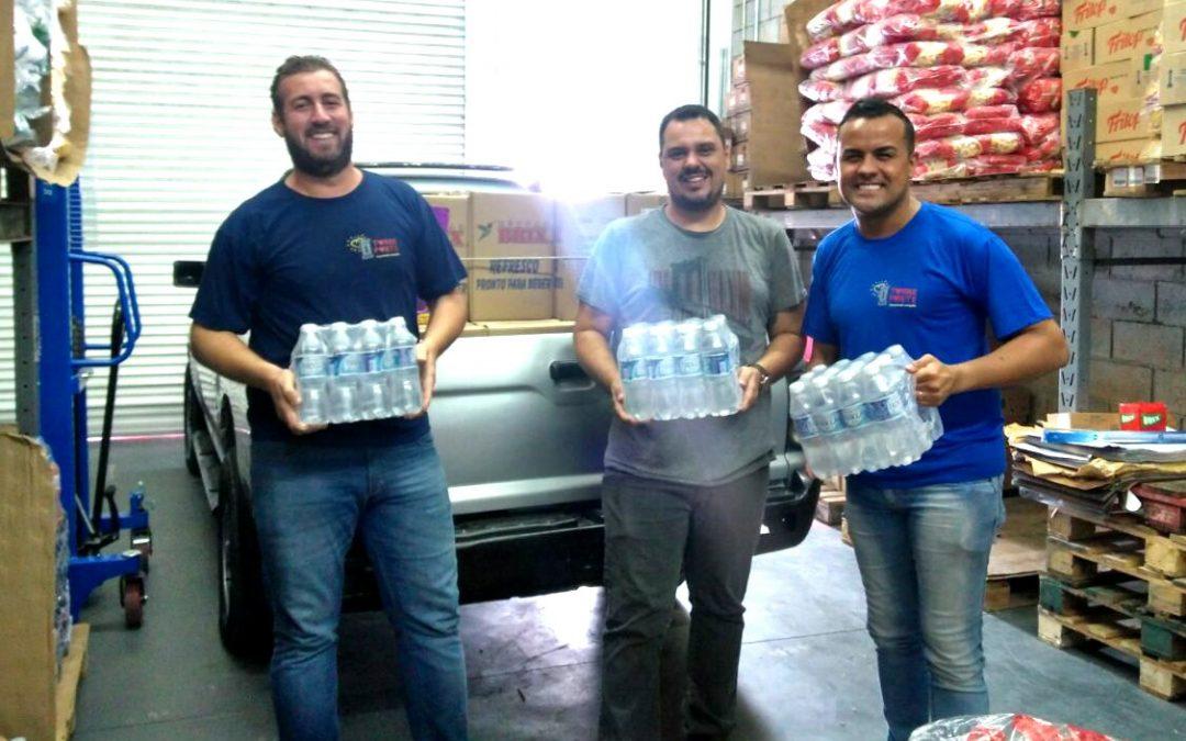 Empresa M&G Distribuidora faz doação para Torre Forte