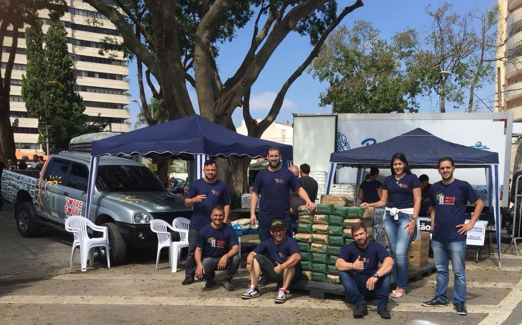 ONG Torre Forte arrecada alimentos no 4° Aranha Moto Classic