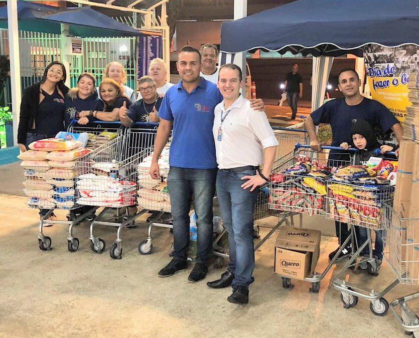 Arrecadação de alimentos no Nagumo Ipiranguinha –Santo André