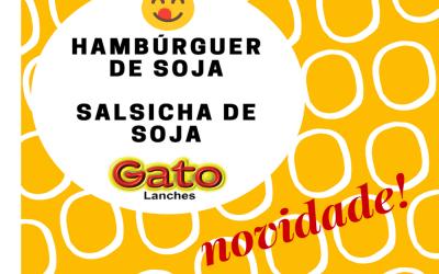 Hambúrguer e Salsicha de Soja