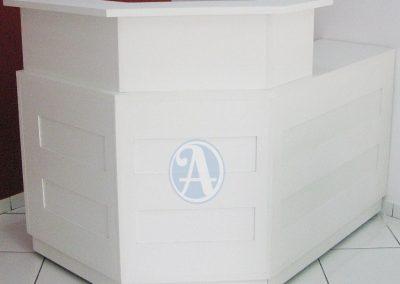 ACRI 101 – Balcão Caixa Sextavado