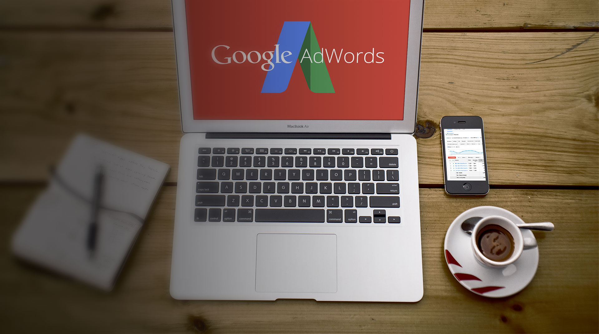 notebook google adwords