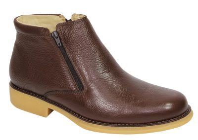 REF. 382 COURO FLOTER COR CHOCOLATE