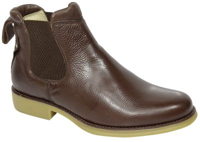 REF. 535 COURO FLOTER COR CHOCOLATE