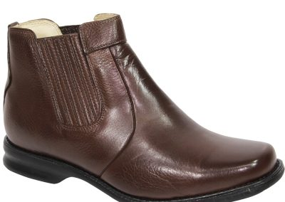 REF. 580 COURO FLOTER COR CHOCOLATE