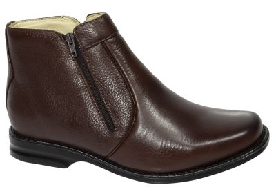 REF. 581 COURO FLOTER COR CHOCOLATE