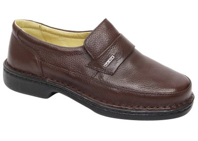 REF. 185 COURO FLOTER COR CHOCOLATE