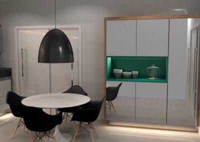 Projetos de Cozinha Planejada Roberto Almeida Interiores 11
