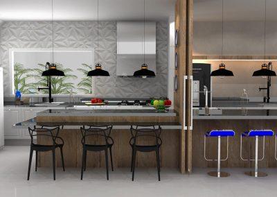 Projetos de Cozinha Planejada Roberto Almeida Interiores 12