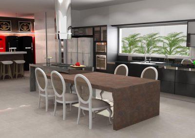 Projetos de Cozinha Planejada Roberto Almeida Interiores 13