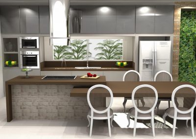 Projetos de Cozinha Planejada Roberto Almeida Interiores 22