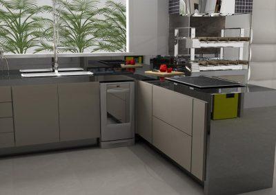 Projetos de Cozinha Planejada Roberto Almeida Interiores 28