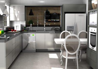 Projetos de Cozinha Planejada Roberto Almeida Interiores 3