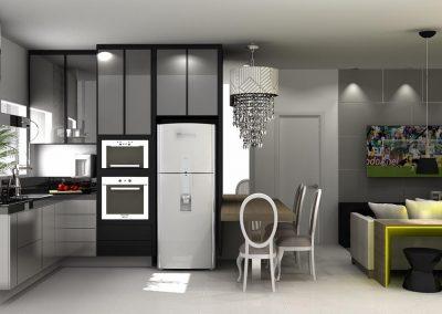 Projetos de Cozinha Planejada Roberto Almeida Interiores 33