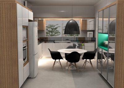 Projetos de Cozinha Planejada Roberto Almeida Interiores 8