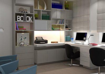 Projetos de Escritório e Comercial Planejados Roberto Almeida Interiores 1