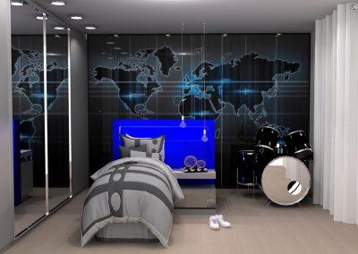 Projetos de Quarto e Closet Planejados Roberto Almeida Interiores 10