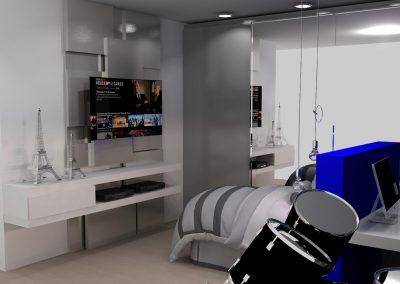 Projetos de Quarto e Closet Planejados Roberto Almeida Interiores 13