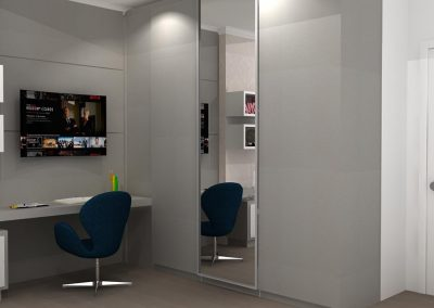 Projetos de Quarto e Closet Planejados Roberto Almeida Interiores 19