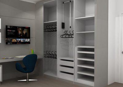 Projetos de Quarto e Closet Planejados Roberto Almeida Interiores 20