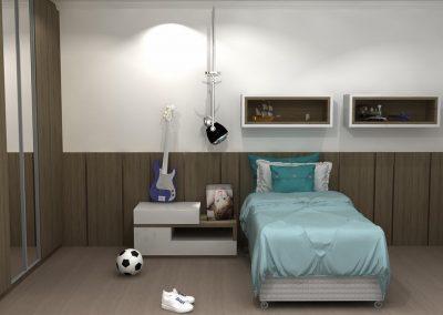 Projetos de Quarto e Closet Planejados Roberto Almeida Interiores 24