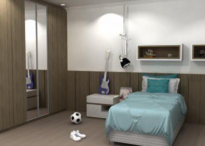 Projetos de Quarto e Closet Planejados Roberto Almeida Interiores 25
