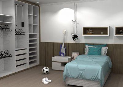 Projetos de Quarto e Closet Planejados Roberto Almeida Interiores 26