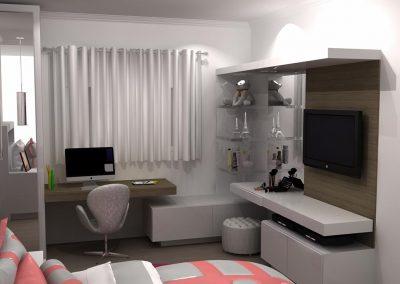 Projetos de Quarto e Closet Planejados Roberto Almeida Interiores 34