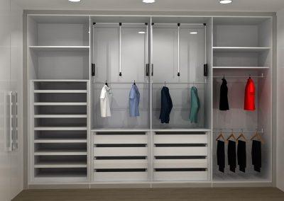 Projetos de Quarto e Closet Planejados Roberto Almeida Interiores 6